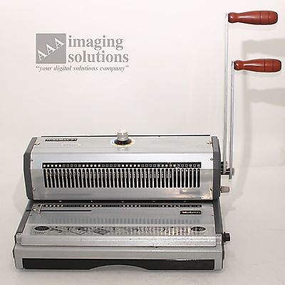 WireMac 31 Akiles Binding Machine for double wire 3:1 Wire-O *USED*