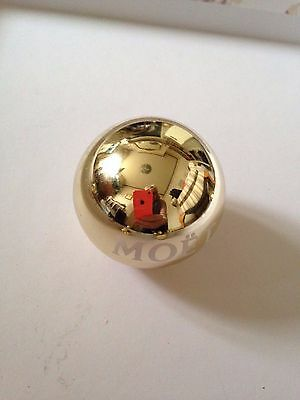 Moet Chandon  Champagne Gel Candle Bauble  New X 2