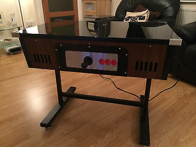 Base Table Top Cocktail Arcade Machine Pacman NEW Retro 80s Games Space Invaders