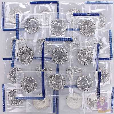 1981 P Susan B Anthony Dollar Mint Cello BU Roll 25 US Coin Lot
