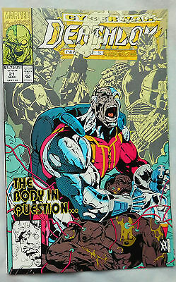 Deathlok #21 (Mar 1993, Marvel)