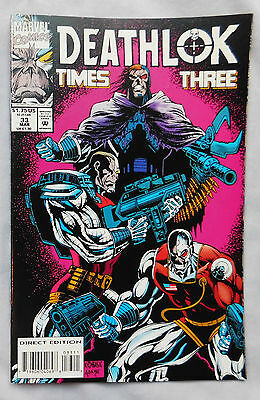 Deathlok #33 (Mar 1994, Marvel)