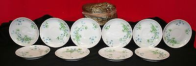Lot of 10 Limoges Saucer Plated For Gimbel Brothers