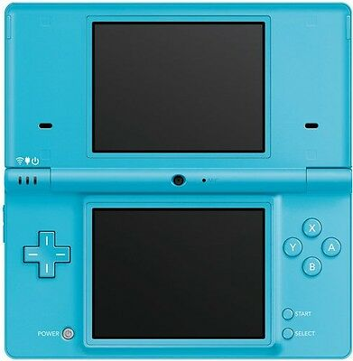 Nintendo Ds Lite Blue With Charger And case