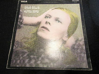 """David Bowie """"hunky Dory"""" 1971 Uk Lp Sp 8244 Lsp 4623 *sleeve Only*"""