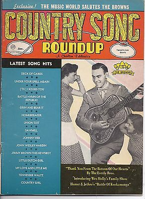 Country song Roundup #64 Jan 1960