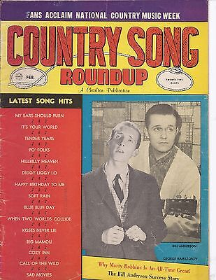 Country song Roundup #75 Feb 1962