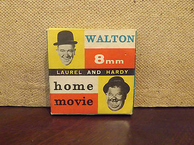 "VINTAGE 8MM FILM...LAUREL AN HARDY ""THE RELUCTANT  LEGIONNAIRES"" No 282."
