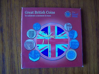 Royal Mint: UK 2010 Uncirculated Great British Coins Pack.