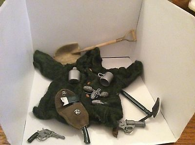 Vintage Action Man 1970s Quartermaster EQUIPMENT NICE LOT