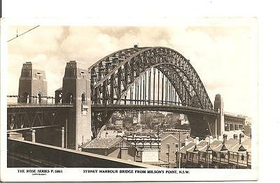 Lovely  Postcard,sydney Harbour Bridge From Wilson's Point,new South Wales,rp