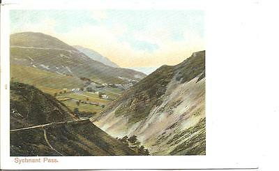 Lovely Early Vintage Postcard,sychnant Pass,north Wales