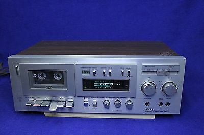 Vintage AKAI GX-M50 Stereo 3-head Cassette Deck AS IS or to FIX Project