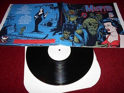 THE MISFITS - PRIME DIRECTIVE Lp - Test Pressing with  Proof sleeve