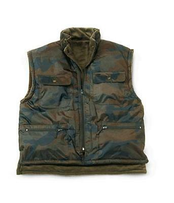 OUTDOOR/HUNTING EQUIPMENT  WAISTCOAT Woodland - Reversable, Lined Fleece  New