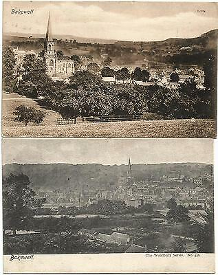 GB 4 ppc 1905 - 14 different views of Bakewell
