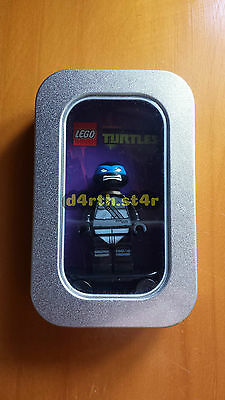 ��RARE�� Lego Turtles Shadow Leonardo Minifigure Tin Edition ��NEW/400 MADE��
