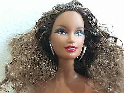 Nude Muse African American Hispanic Latino Barbie Very Curly Hair