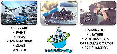 NanoWay Nano Car Paint Ceramic Rims Glass Interior Hydroponic Sealant & Protect