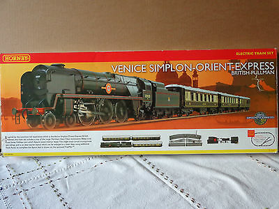 hornby R1087 Venice Simplon-Orient Express DCC Ready.