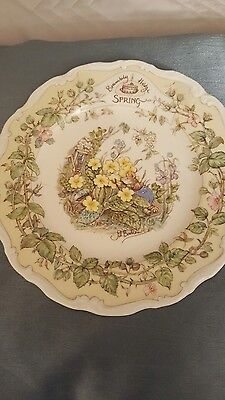 Bramley Hedge Royal Doulton Plate Spring