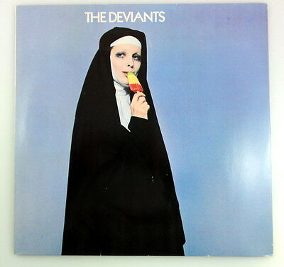 LP THE DEVIANTS, same - UK 1978 -  Logo ‎– MOGO 4001