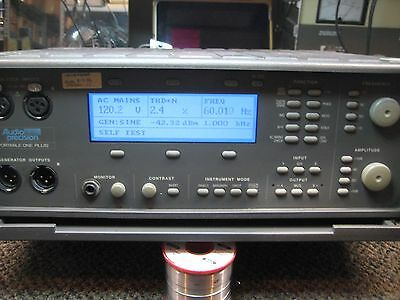 audio precision portable in very good condition, passes self test