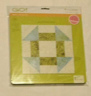 "AccuQuilt GO! Fabric Cutting Die Churn Dash 9"" Finished 55339 Quilting Sewing"