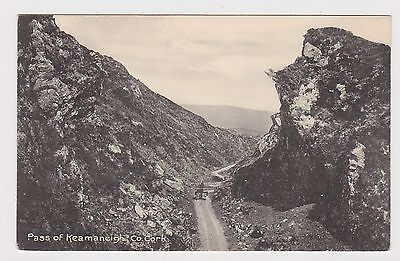 Great Old Card Of Keamaneigh Pass, County Cork Ireland Around 1930