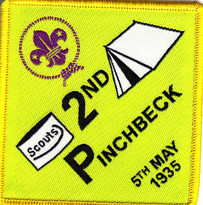 Boy Scout Badge 2nd PINCHBECK Scout Group