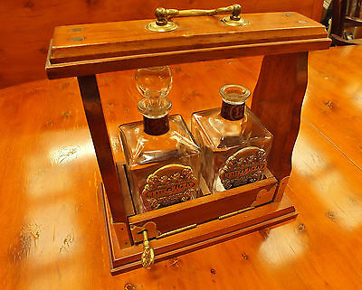 Whyte & Mackay Whisky Tantalus 12 & 21 Year Old (Decanters Box Vintage)
