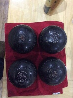 Henselite Classic Deluxe bowls size 4 - tiger logo