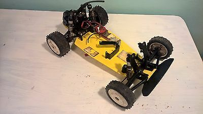 MaRdAVe CoBrA 1/10 project chassis vintage RC 2wd Buggy marauder V12 meteor