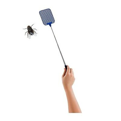 Extendable Fly Swatter Telescopic Insect Swat Bug Mosquito Wasp Killer Flies
