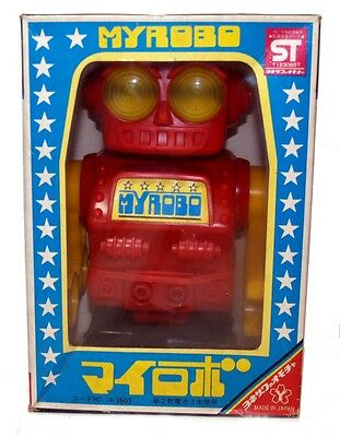 Yonezawa Robot MYROBO mint and boxed Vintage Space Toy battery operated