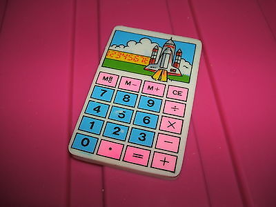RARE 1980s SPACE SHUTTLE CALCULATOR ERASER RUBBER  - COMBINED POSTAGE