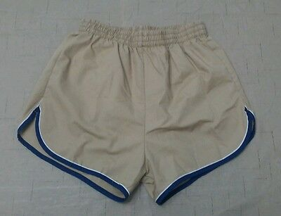 Vtg 60s 70s Fruit of The Loom Swim Trunks Board Shorts Surf Running Cycling M