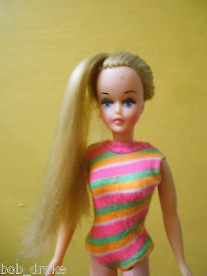 TRESSY doll SEÑORITA LILI ledy MEXICAN 70s LILLI foreign growing hair 2nd bella