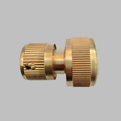 New RHS 3/4 (19mm) Brass Hose End Connector