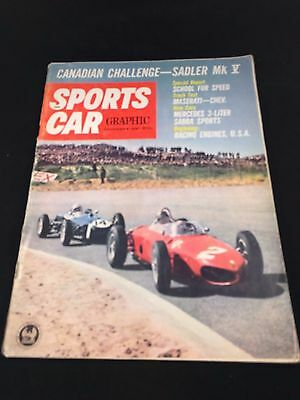 Lot of 4 vintage Auto Magazines Car Life Motor Trend Sports Car graphic