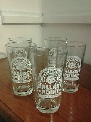 five ballasts point beer glasses