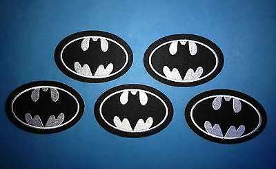 5 Lot Batman Collectable Iron On Jacket Hoodie Hat Backpack Patches Crests A
