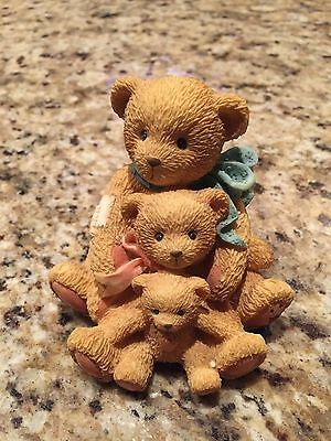 "Cherished Teddies Theadore, Samantha And Tyler ""friends Come In All Sizes"""