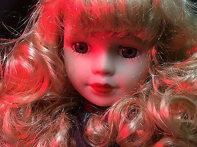 Haunted Doll. Supernatural. Paranormal. Ghost Meter Active.