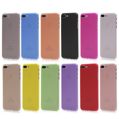 Fit for Apple iPhone 8 Plus/7 Plus Ultra Thin Matte Phone Back Skin Case Cover