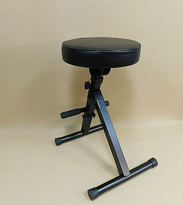 TWO (x2) Haze KB009 Adjustable Practice Performance Stools for Guitar Keyboard