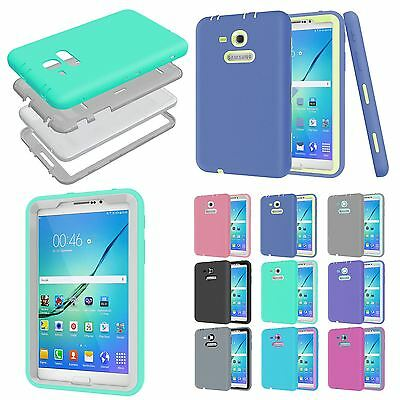 hot sale online f14aa 1a33e SHOCKPROOF HARD TABLET Heavy Duty Case Cover for Samsung Galaxy Tab 3 Lite  7.0