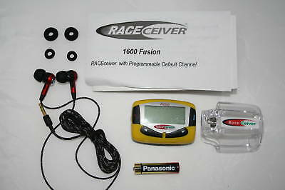 NEW RACEceiver Fusion+ Driver/Fan Radio w/ Driver Earbuds