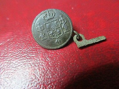 Medieval British Military Button - 15mm - T024