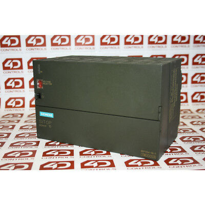 Siemens 6EP1 334-1SL11 POWER SUPPLY SITOP 10AMP 120VAC IN 24VDC OUT - Used